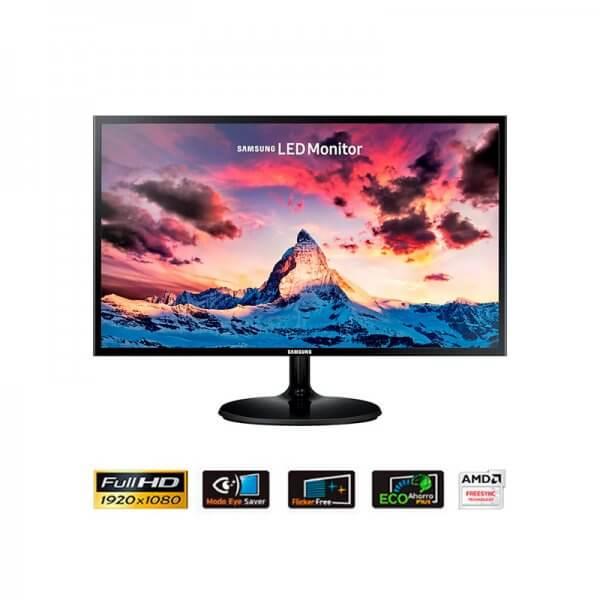 "Monitor Samsung LED 24"" LS24F350FHLX"